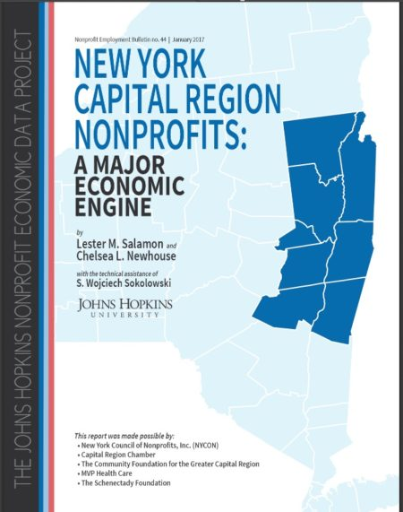New York Capital Region Nonprofits: A Major Economic Engine