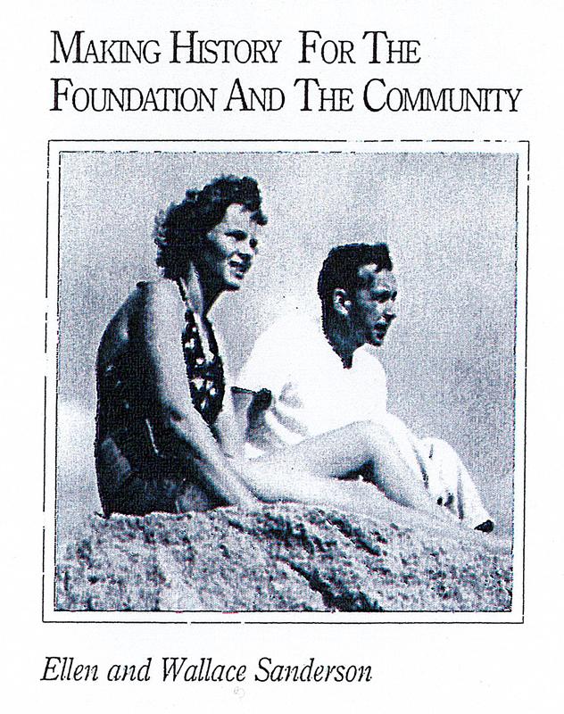 Ellen and Wallace Sanderson